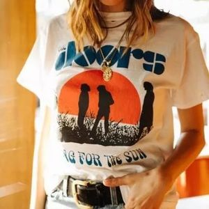 Tops - The Doors Waiting For The Sun Vintage T-shirt